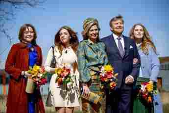 holländische royals familienfoto