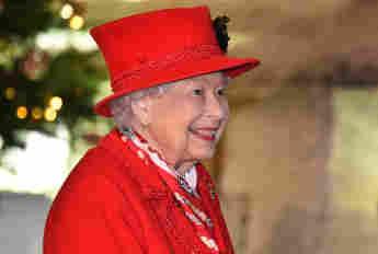 Königin Elisabeth II. im Windsor Castle Ende 2020