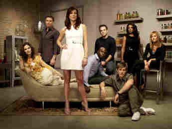 """Kate Walsh, Tim Daly, Audra McDonald, Paul Adelstein, KaDee Strickland, Chris Lowell, Taye Diggs und Amy Brenneman in """"Private Practice"""""""