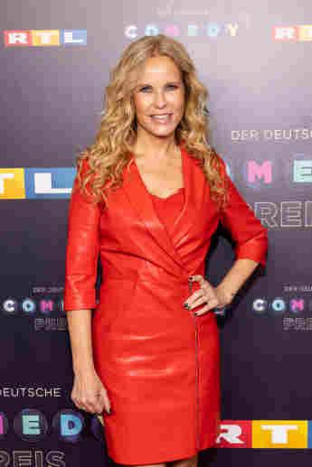 Katja Burkard beim 23. Deutschen Comedypreis am 2. Oktober 2019