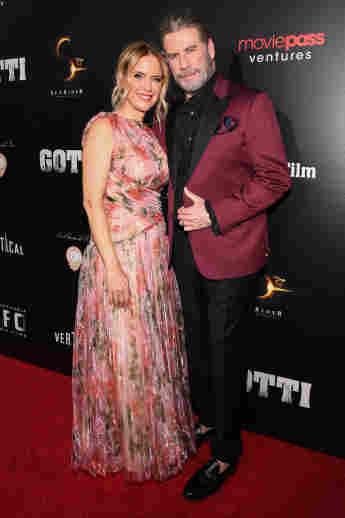 """Kelly Preston und John Travolta bei der Premiere von """"The Life And Death Of John Gotti"""" am 15. Juni 2018"""