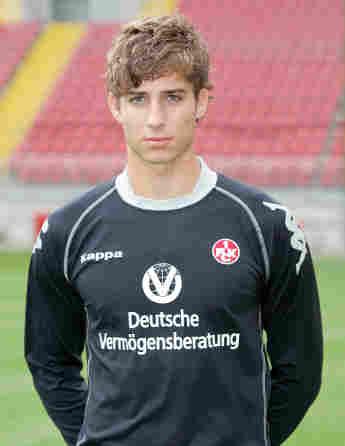 Fußballer Kevin Trapp in jungen Jahren