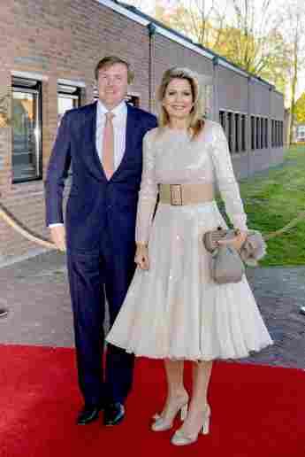 Königin Maxima König Willem-Alexander Königstag-Konzert Kleid
