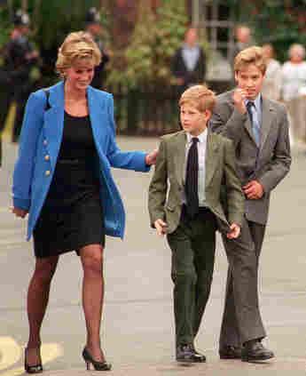 Lady Diana mit Prinz Harry und Prinz William 1995