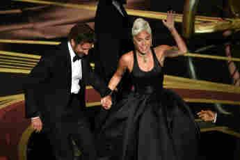 Lady Gaga und Bradley Cooper Oscars
