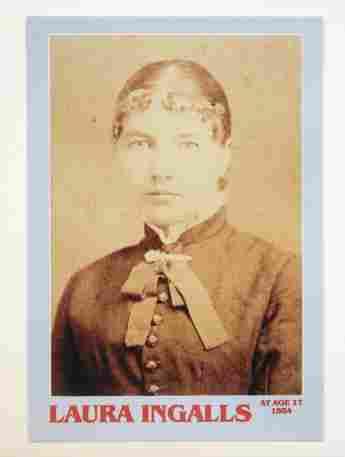Laura Ingalls Wilder im Alter von 17 Jahren