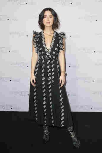 Lena Meyer-Landrut beim Exclusive Dinner And Exhibition Of The Giambattista Valli X H&M Collection am 6. November 2019