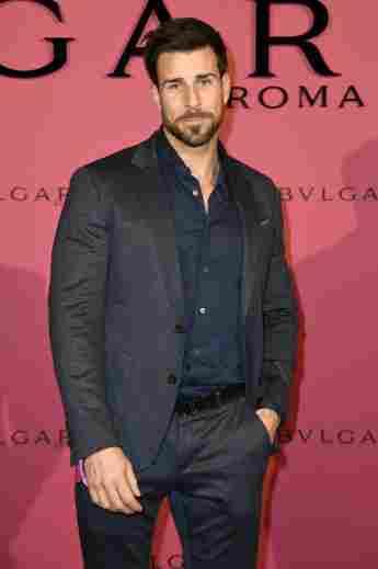 """Ex-""""Bachelor"""" Leonard Freier bei der Bvlgari Party während der Berlinale 2019 im Secret Garden"""