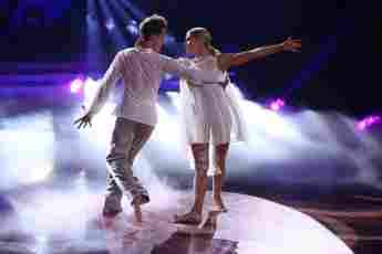 """Valentin Lusin und Valentina Pahde in Show neun von """"Let's Dance"""" am 7. Mai 2021"""