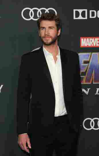 Liam Hemsworth Premiere Avengers: Endgame