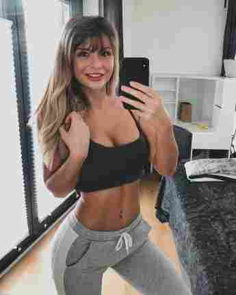 Lisa Gelbrich Germany's Next Topmodel Influencerin Instagram Fitness