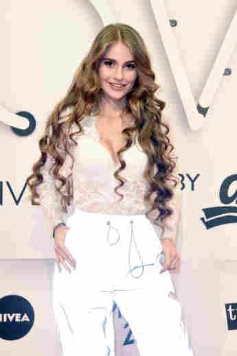 """Lisa-Marie Schiffner im Jahr 2019 auf der """"GLOW - The Beauty Convention"""""""