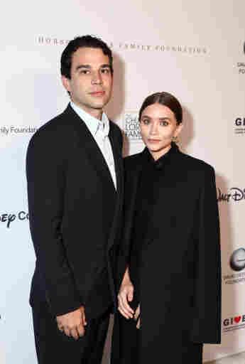 Louis Eisner und Ashley Olsen