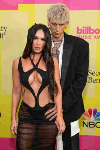 Megan Fox und Machine Gun Kelly bei den Billboard Music Awards 2021