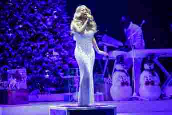 """Mariah Carey landete mit """"All I Want For Christmas Is You"""" einen Hit"""