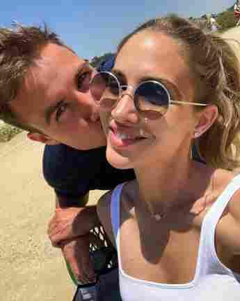 Mario Götze und Ann-Kathrin Götze haben auf Mallorca ihre Hochzeit gefeiert