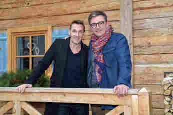 Mark Keller und Hans Sigl