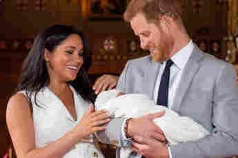 Herzogin Meghan, Prinz Harry und ihr Sohn Archie Harrison