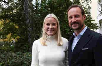 Mette-Marit von Norwegen und Prinz Haakon