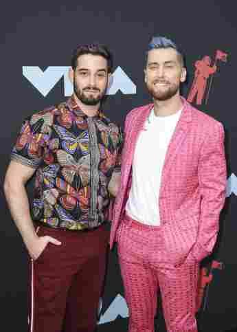 Lance Bass und Michael Turchin bei den 2019 MTV Video Music Awards am 26. August 2019