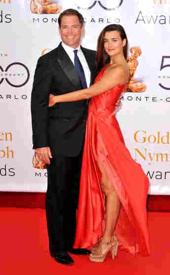 Michael Weatherly und Coté De Pablo beim Monte Carlo Television Festival 2010