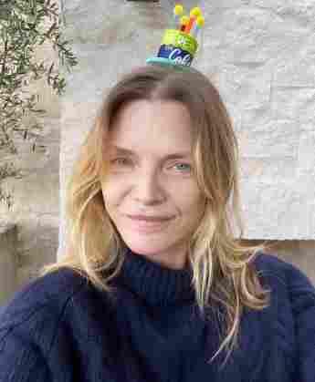 Michelle Pfeiffer 63. Geburtstag ohne Make-up