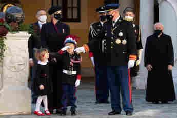 Die monegassische Fürstenfamilie charlene jacques gabriella albert