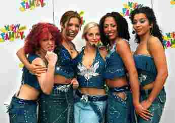 No Angels Lucy, Vanessa, Sandy, Jessica und Nadja