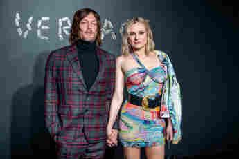 Norman Reedus und Diane Kruger bei der Versace Fall 2019 Fashion Show