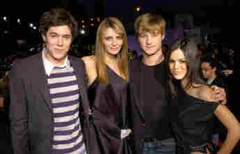 O.C. California Cast Adam Brody, Mischa Barton, Benjamin McKenzie und Rachel Bilson