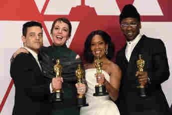 Oscars Oscar Gewinner Regina King, Olivia Colman, Mahershala Ali Rami Malek