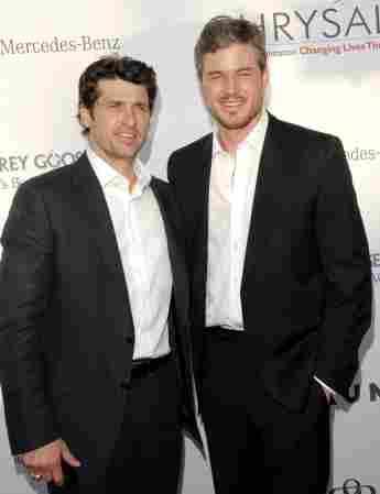 Patrick Dempsey und Eric Dane