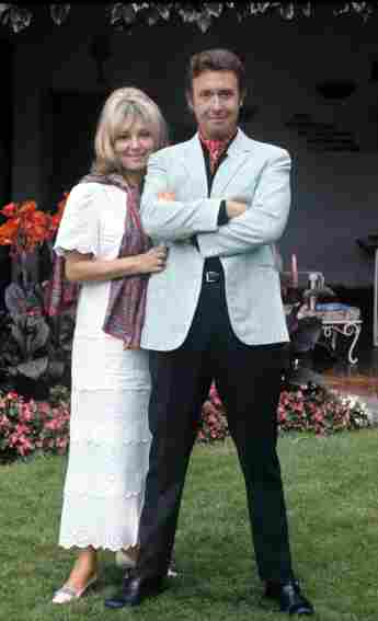 Peter Alexander und seine Frau Hilde Haagen in den Siebzigern