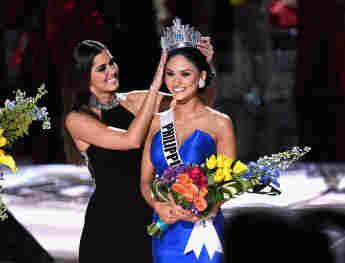 Pia Wurtzbach bei der Miss Universe-Wahl am 20. Dezember 2015