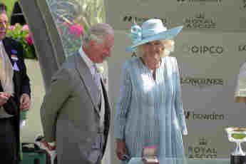 Prinz Charles und Herzogin Camilla beim Royal Ascot Pferderennen 2021