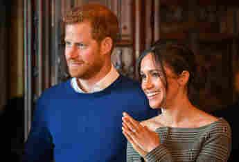 Prinz Harry und Herzogin Meghan bei einem Besuch im Cardiff Castle am 18. Januar 2018