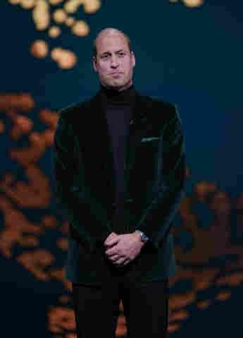 Prinz William sah bei den Earthshot Prize Awards sehr elegant aus