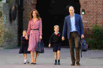 Prinzessin Charlotte, Herzogin Kate, Prinz George, Prinz William
