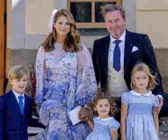 Prinzessin Madeleine Mann Christopher O'Neill Kinder Nicolas Adrienne Leonore  Taufe Prinz Julian