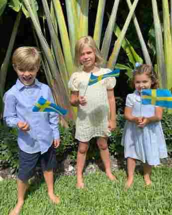 Die Kinder von Prinzessin Madeleine: Prinz Nicolas, Prinzessin Leonore und Prinzessin Adrienne auf Instagram