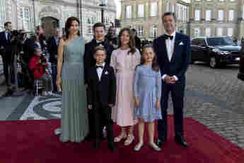 Prinzessin Mary, Prinz Frederik und die Kinder