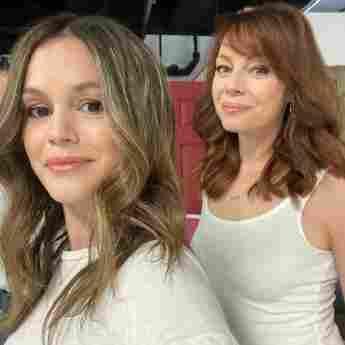 Rachel Bilson und Melinda Clarke