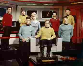 Star Trek, Raumschiff Enterprise, Cast, James Doohan, Walter König, DeForest Kelly, Majel Barrett, William Shatner, Nichelle Nichols, Leonard Nimoy, George Takei