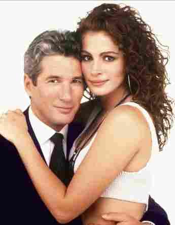 "Richard Gere und Julia Roberts in ""Pretty Woman"""