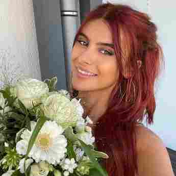 Romina Palm hat sich die Haare gefärbt 2021