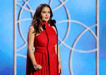 Salma Hayek bei den 78. Golden Globe Awards am 28. Februar 2021