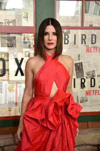 "Sandra Bullock bei dem ""New York Special Screening"" des Netflix-Films ""Bird Box"""