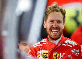 Rennfahrer Sebastian Vettel Formel 1