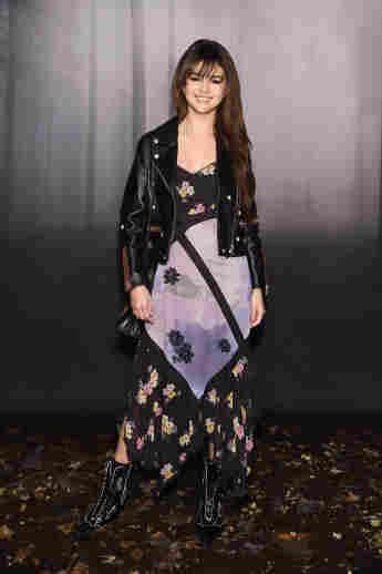 Selena Gomez bei der New York Fashion Week 2018, Coach Show