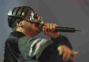 Sido früher mit seiner Totenkopf-Maske